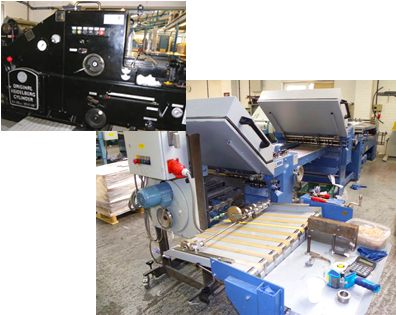 creasing and folding machinery
